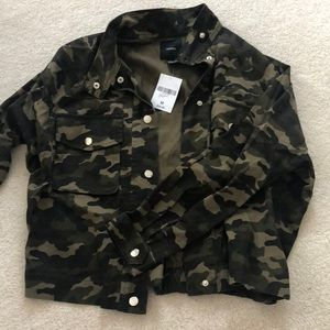 New With Tags Forever 21 Camo Jacket